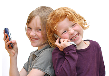 Swiss Harmony PhoneCard: even kids can use a cell phone, fearlessly.