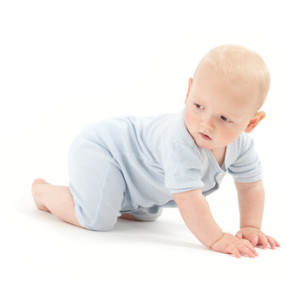 Infants will quickly crawl away from a water vein if they are placed over it.