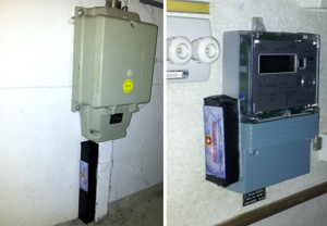 The above pictures show two ways of installing Swiss Harmony's Climate BioTuner.