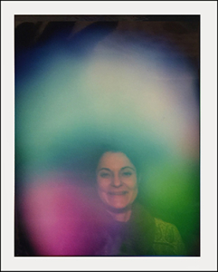 The second aura photograph after having worn theSwiss Harmony BodyCard for only 90 minutes.