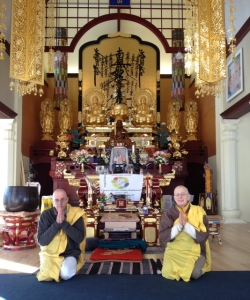 Peace Pagoda Monks